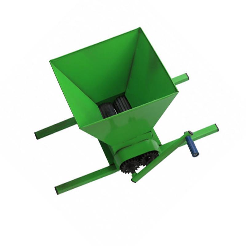 Zdrobitor manual pentru struguri Craft Tec, cuva 40 cm, maner metal imagine