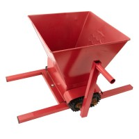 Zdrobitor manual pentru struguri Craft Tec, 35 l, 350 kg/h, role aluminiu dur