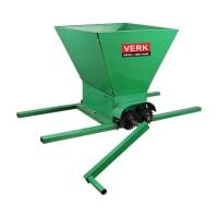 Zdrobitor manual struguri Verk, 25 l, 350 kg/h, metal, Verde