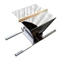 Zdrobitor pentru struguri Ruris SS30, 20 kg, 850 x 550 x 340 mm, cuva inox alimentar, Gri