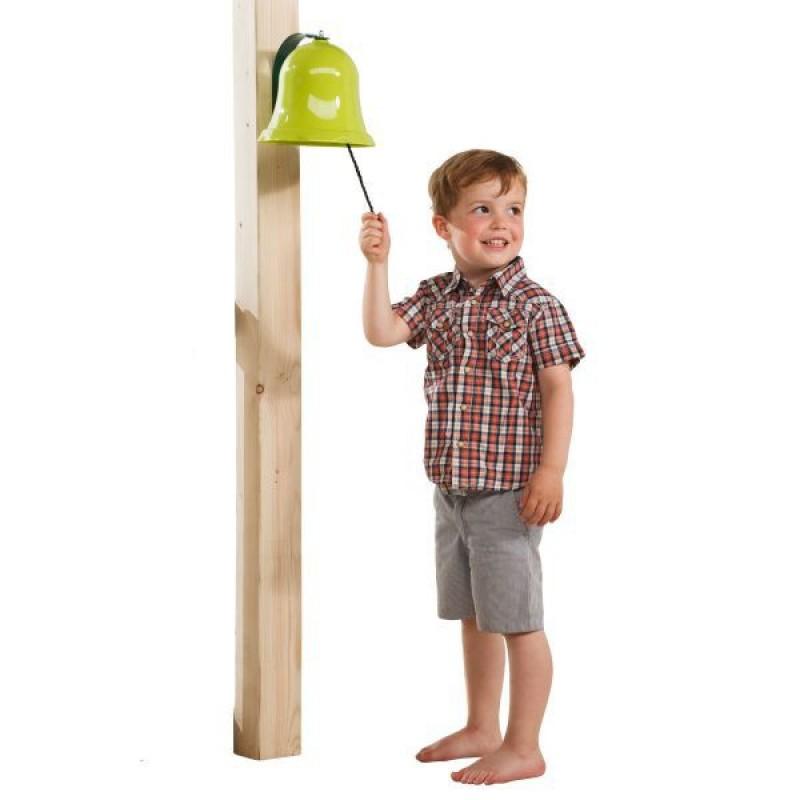 Accesoriu Clopotel pentru spatii de joaca KBT, 235 x 175 mm, 3 ani+, Verde