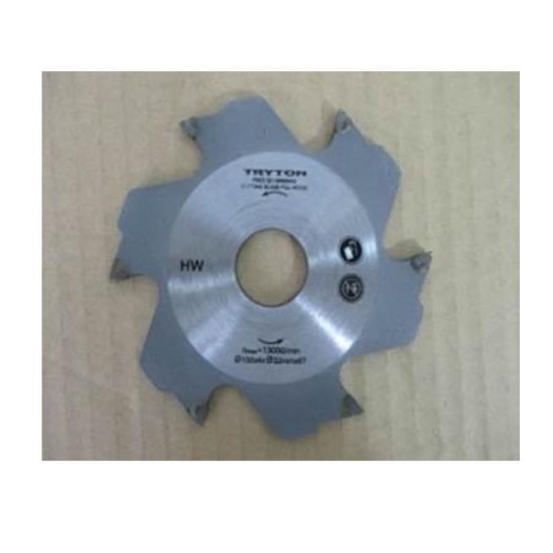 Disc frezare Tryton, diametru 100 mm, 6 dinti 2021 shopu.ro