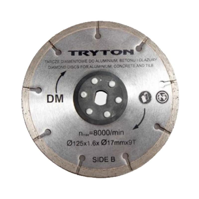Disc diamantat Tryton, accesoriu TPD860K, 125 mm 2021 shopu.ro