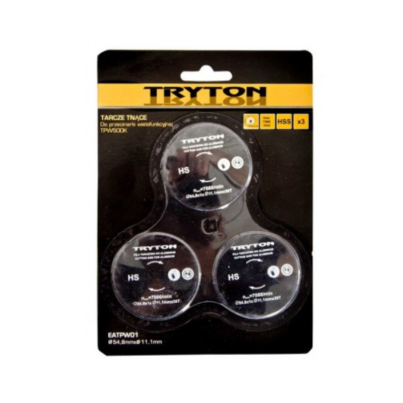 Set 3 discuri pentru metal Tryton, 54 mm 2021 shopu.ro