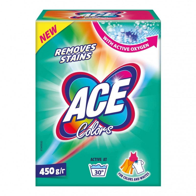 Detergent de rufe Colors Ace, 450 g 2021 shopu.ro