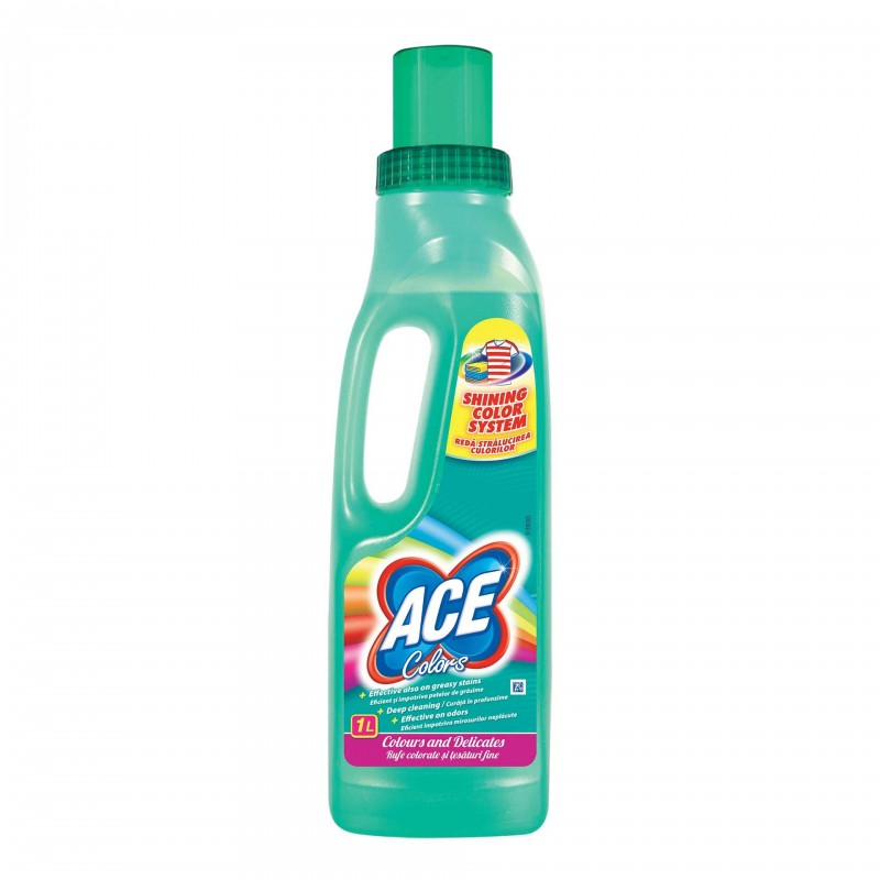 Detergent de rufe Ace Colors, 1 l 2021 shopu.ro