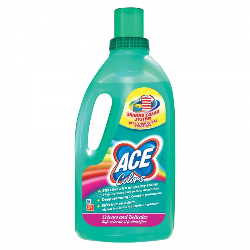 Detergent de rufe Ace Colors, 2 l 2021 shopu.ro