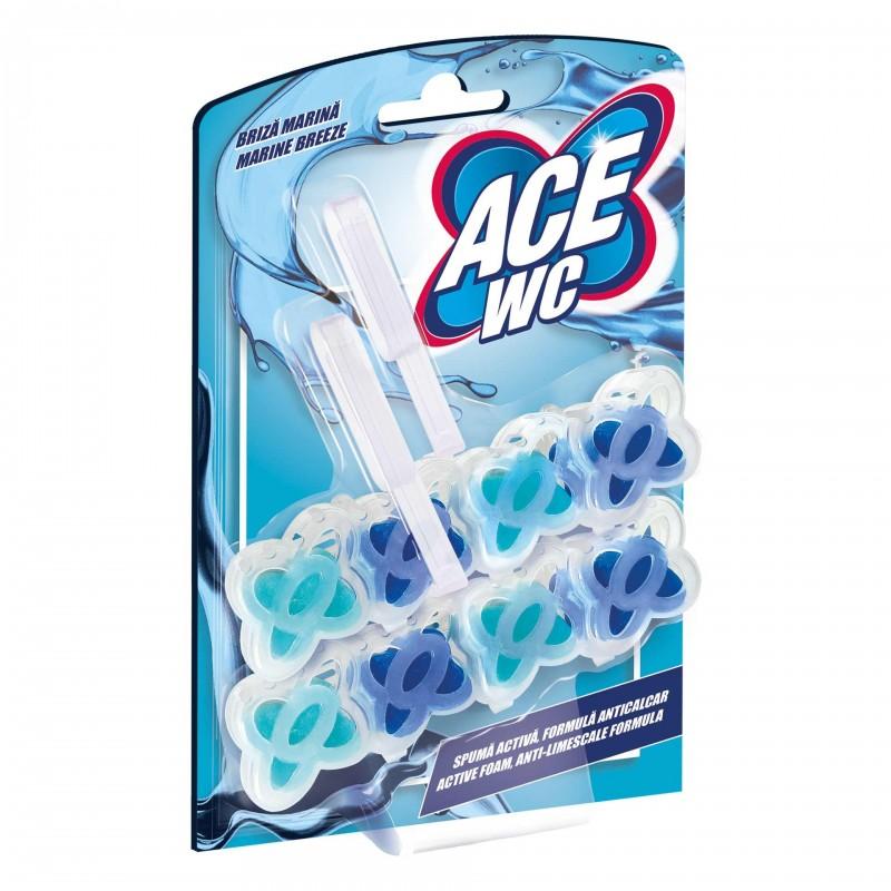Odorizant WC Ace, 2 x 48 g, aroma Briza marina shopu.ro
