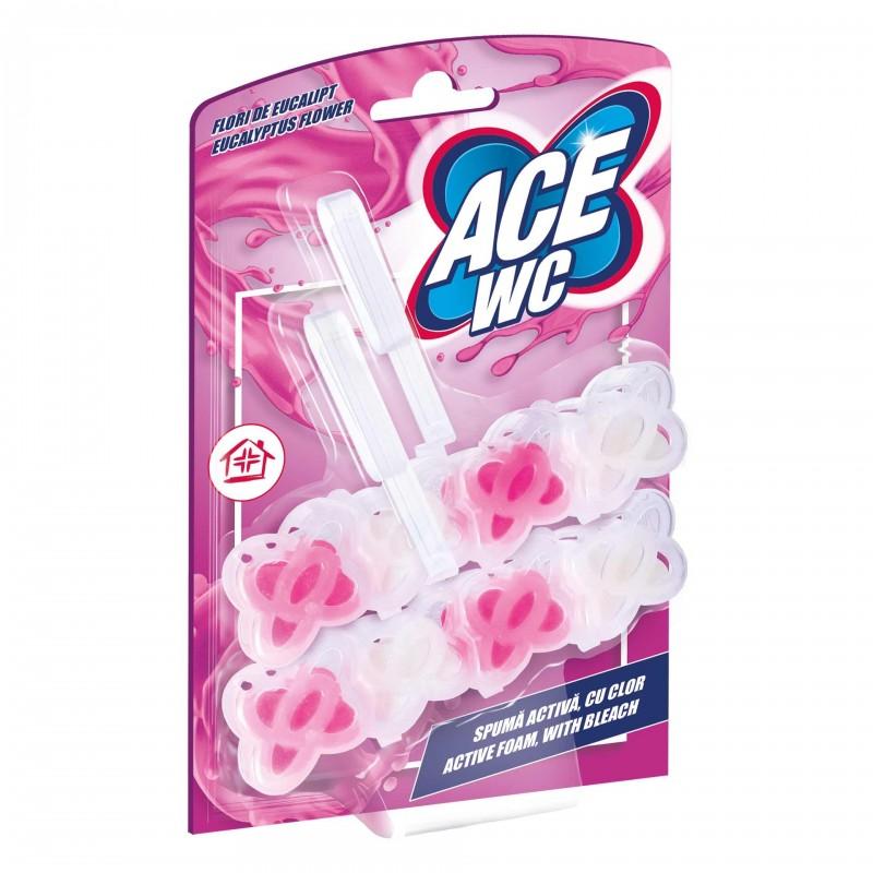 Odorizant WC Ace, 2 x 48 g, aroma Flori de eucalipt shopu.ro