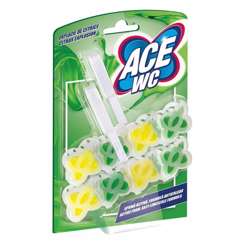 Odorizant WC Ace, 2 x 48 g, aroma lamaie 2021 shopu.ro