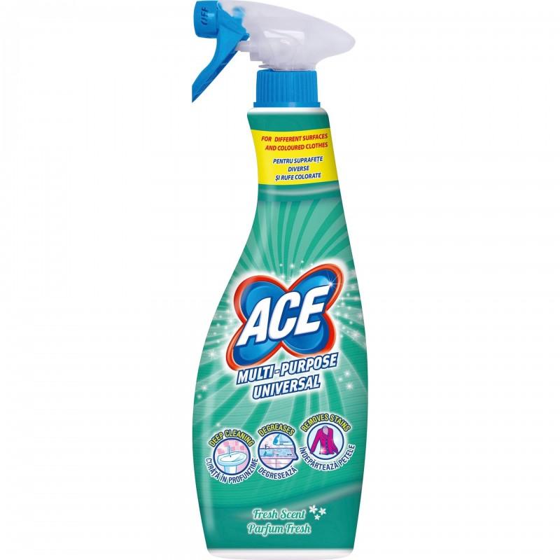 Spray cu spuma si degresant Ace Universal, 650 ml shopu.ro