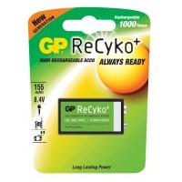 Acumulator Recyko GP, 9 V, tip NiMH, 150 mAh