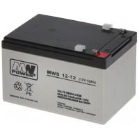Acumulator AGM Other, 12 Ah, 12 V, seria MW Power, 151 x 98 x 100 mm