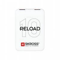 Acumulator extern powerbank Skross Reload, 10000 mAh, alb