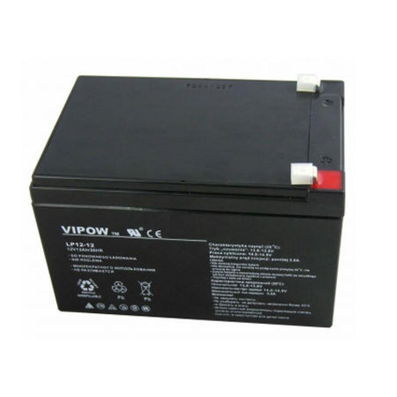 Acumulator gel plumb Vipow, 12 V, 12 Ah 2021 shopu.ro