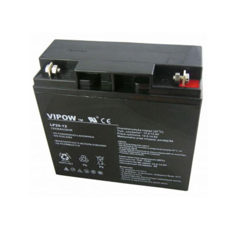 Acumulator Gel Plumb Vipow, 12V, 20 Ah 2021 shopu.ro