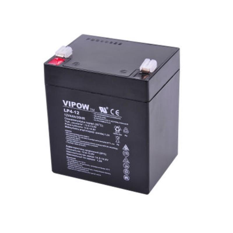 Acumulator Gel Plumb Vipow, 12V, 4 Ah 2021 shopu.ro