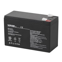 Acumulator gel plumb Vipow, 12 V, 7.5 Ah