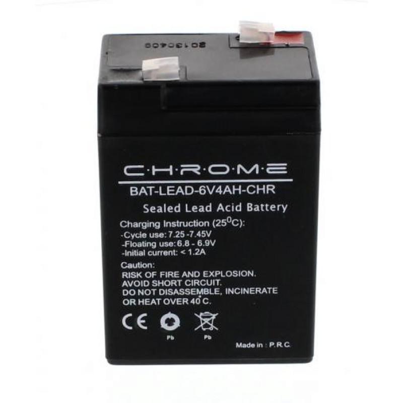 Acumulator plumb acid Chrome, 6V, 4Ah 2021 shopu.ro