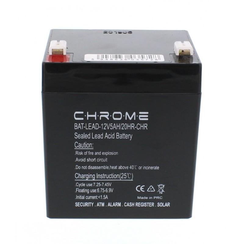 Acumulator plumb acid Chrome, 12 V, 5 Ah