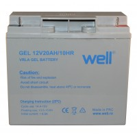 Acumulator plumb acid cu gel Well, 12 V, 20 Ah