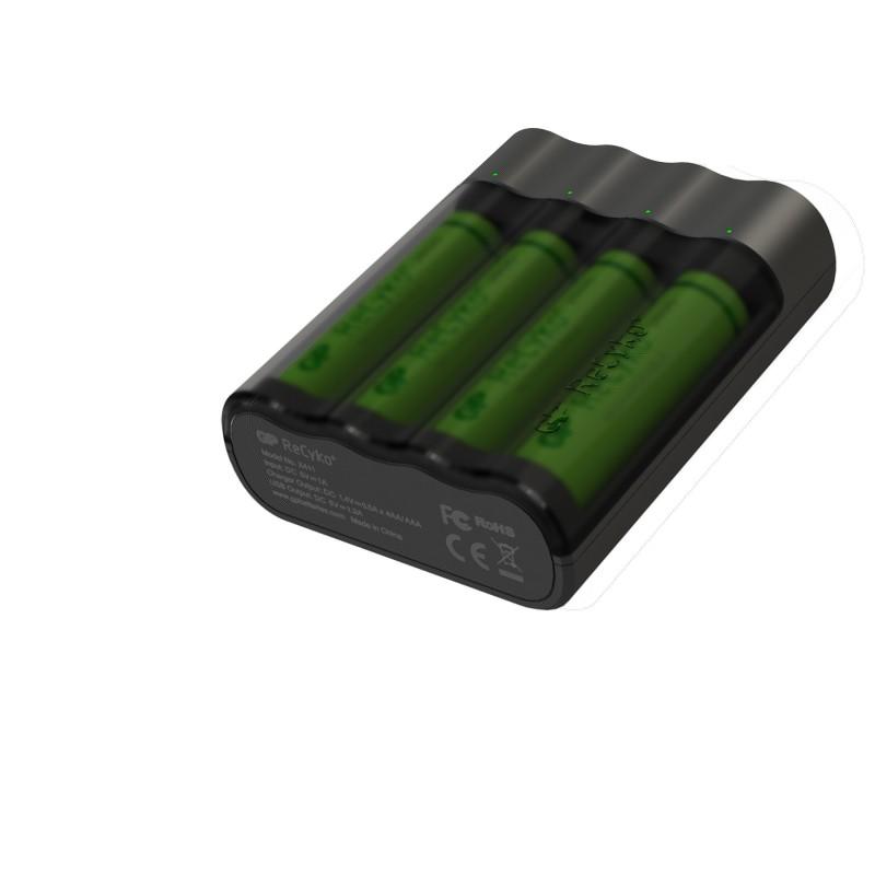 Set 4 acumulatori portabili powerbank Charge Anyway GP, 2700 mAh 2021 shopu.ro