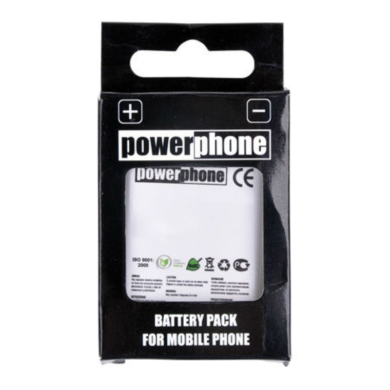POWERPHONE Baterie telefon Samsung S5230, 900 mAh, Li-Ion