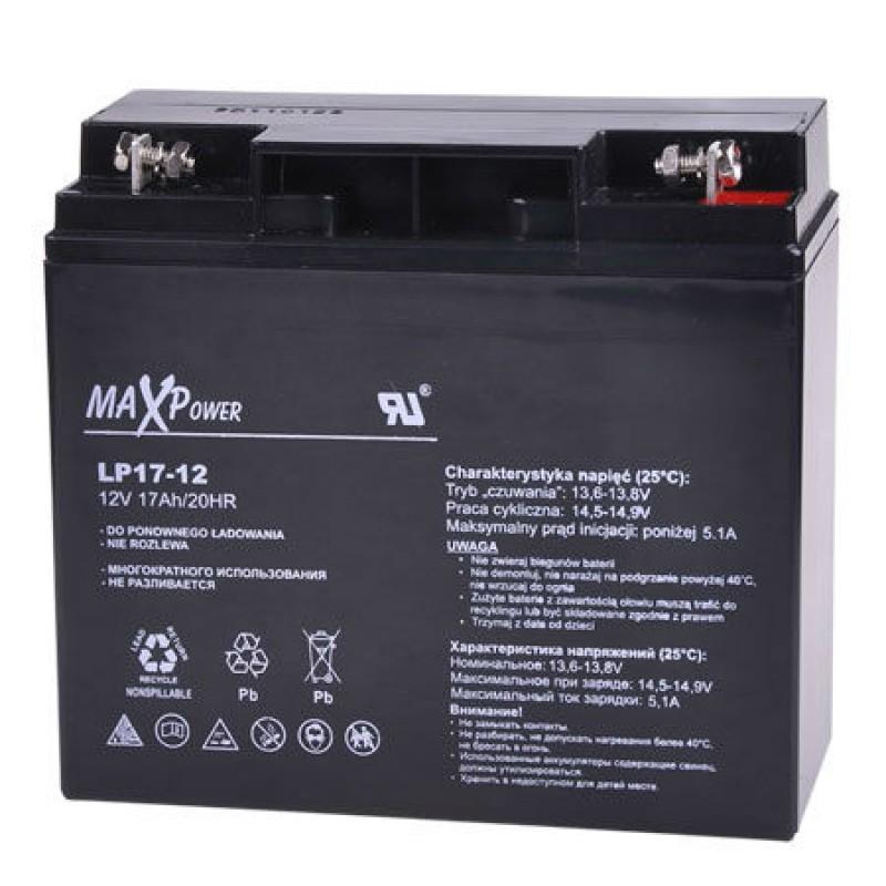 Acumulator stationar MaxPower, 12 V, 17 Ah