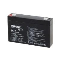 Acumulator gel plumb Vipow, 6 V, 7 Ah
