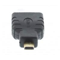 Adaptor Well, HDMI mama, micro HDMI tata, Negru