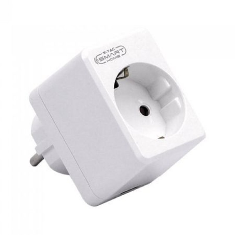 Adaptor mini Smart cu Wi-Fi, 2000 W, 8 temporizari, 150 dispozitive 2021 shopu.ro
