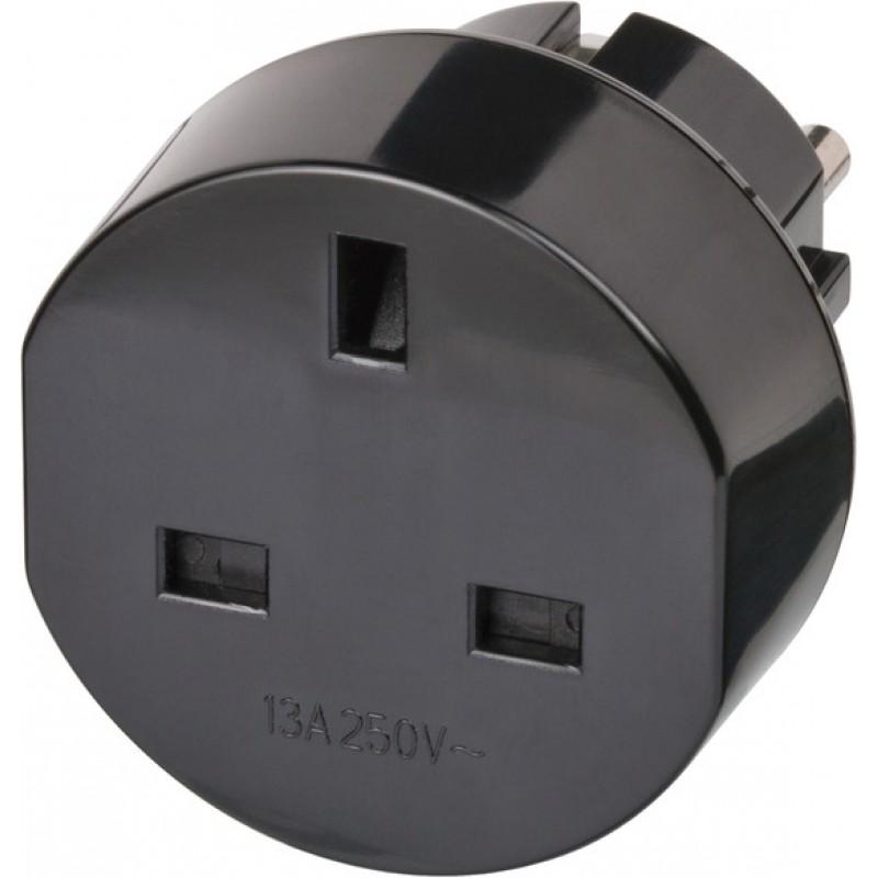 Adaptor pentru priza Brennenstuhl, 13 A, 250 V, Negru 2021 shopu.ro