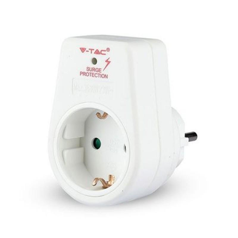 Adaptor pentru priza, 3680 W, 16 A, protectie supratensiune 2021 shopu.ro