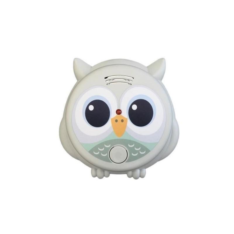 Alarma de fum Flow Mr. Owl, 85 dB, baterie 9 V 2021 shopu.ro