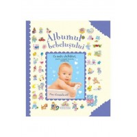 Albumul bebelusului, editura Girasol, bleu