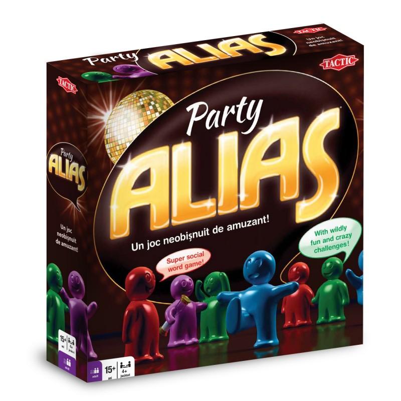 Joc de societate Alias de Petrecere, 15 ani+, 4 jucatori+
