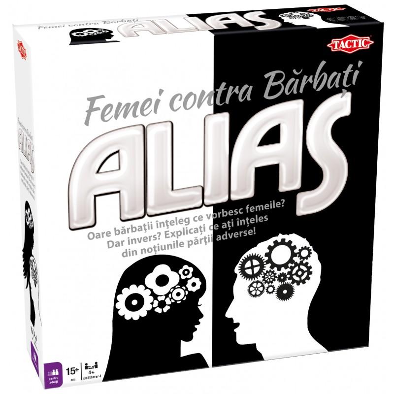 Joc de societate Alias Woman vs Men, 15 ani+ 2021 shopu.ro