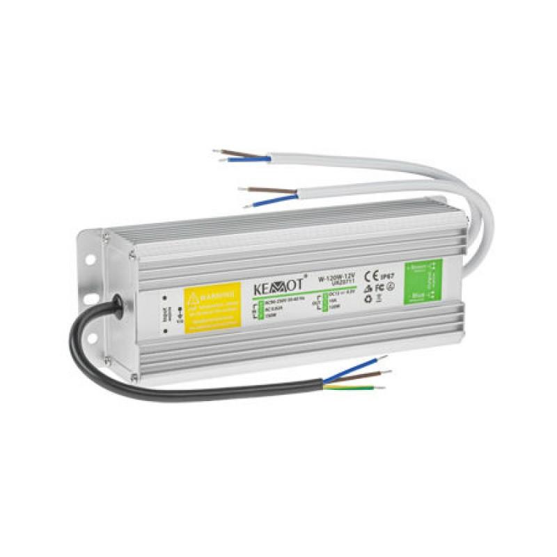 Alimentator banda LED, 120 W, 12 V, 10 A, protectie IP67 shopu.ro