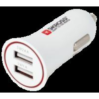 Alimentator bricheta auto Skross, 2 x USB, 12-24 V, 3400 mA