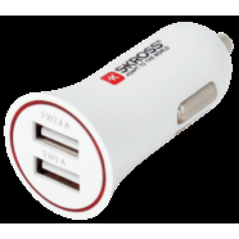 Alimentator bricheta auto Skross, 2 x USB, 12-24 V, 3400 mA 2021 shopu.ro