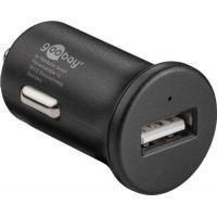 Alimentator USB bricheta auto Goobay, Quick Charge 3.0, 1 iesire, 3 A, negru