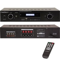 Amplificator Madison, FM tuner, 3 intrari, USB, DVD, AUX, 2 x 180 W