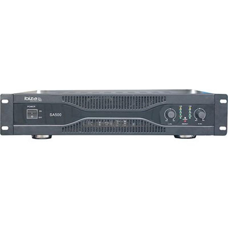 Amplificator 2 x 250 W, intrari stereo XLR, RCA, jack 6.3 mm 2021 shopu.ro