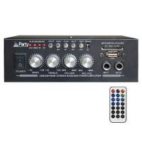 Amplificator Party pentru Karaoke, 2 x 25 W, Bluetooth, telecomanda