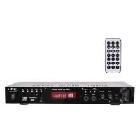 Amplificator polivalent, tuner FM, USB, SD, Bluetooth, 2 linii microfon, 2 x 50 W