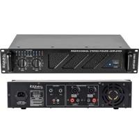 Amplificator sonorizare, 2 x 240 W, ventilator racire, iesire RCA/jack