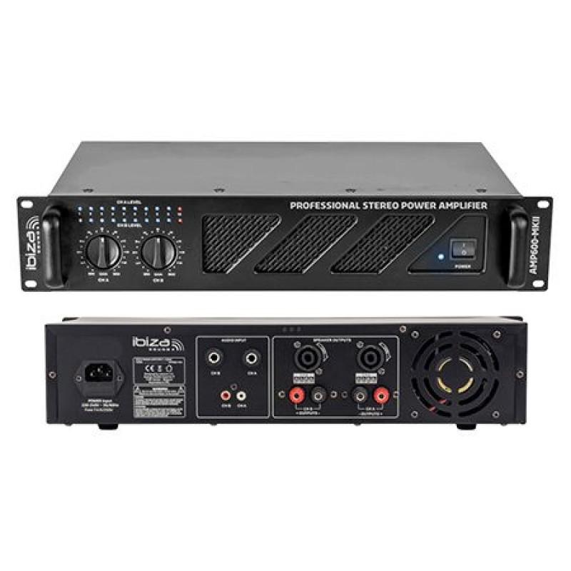 Amplificator sonorizare, 2 x 480 W, 4-8 Ohm, soft Start 2021 shopu.ro