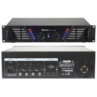 Amplificator sonorizare Ibiza, tehnologie mosfet, jack 6.35 mm, RCA, XLR, 2 x 240 W