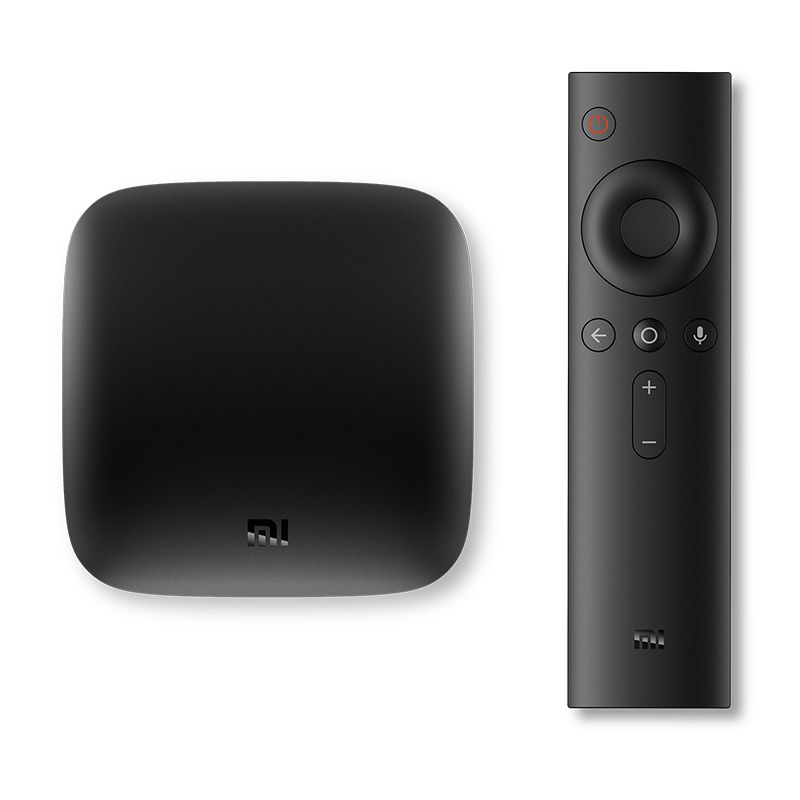 Smart TV Box Android Xiaomi Mibox, 4K, telecomanda