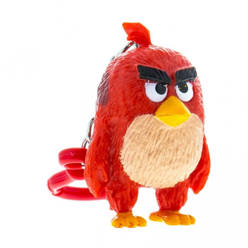 Figurina cu agatatoare Angry Birds 3D Red, 8.5 cm, 3 ani+ 2021 shopu.ro
